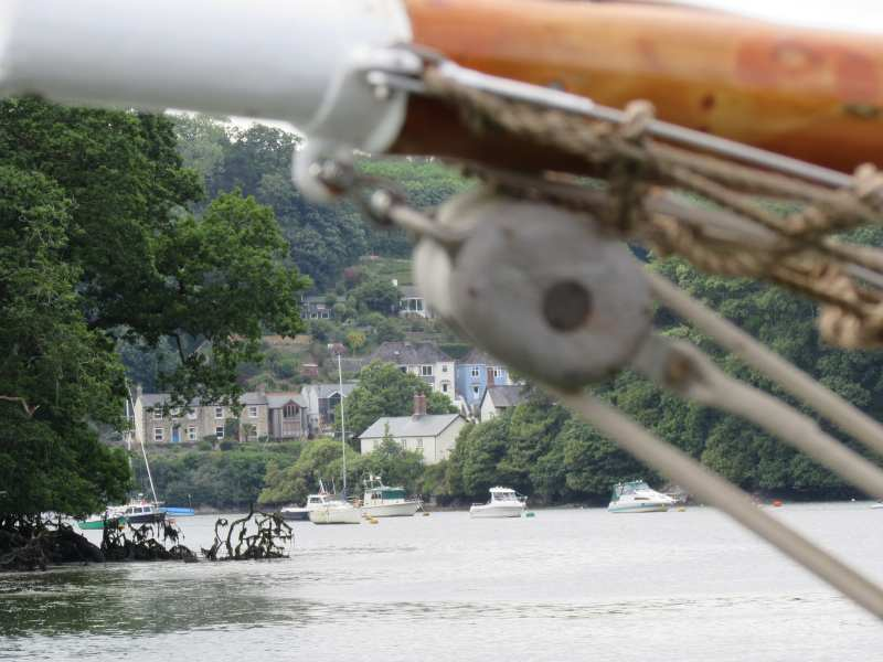 View of Malpas from the River Fal