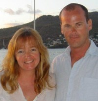 The owners of sailing barge Drifter, Neil and Debbie Wood